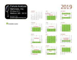 2019-Available-weeks-Calendar