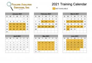 Web Calendar 2021 FAS